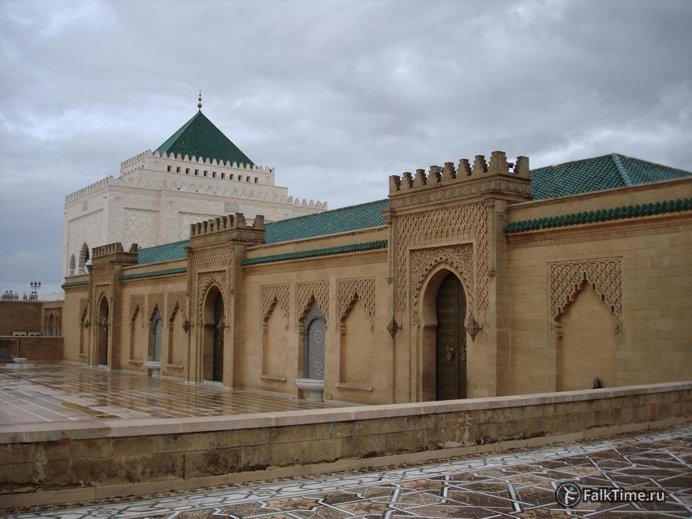 Здание мавзолея