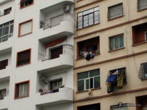 Окна многоэтажек