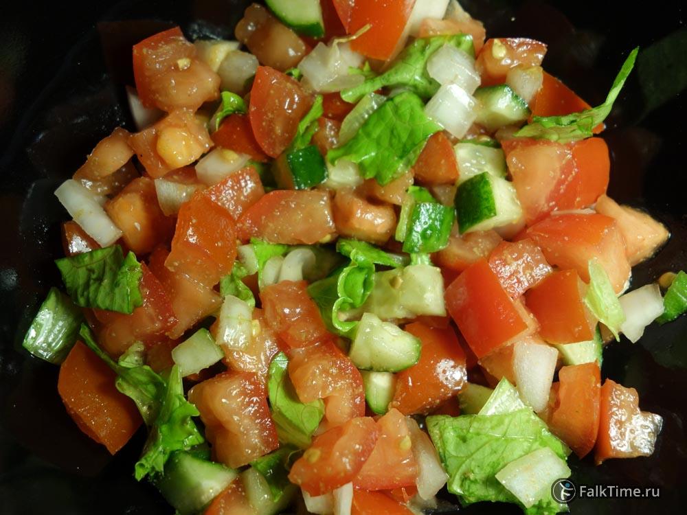 Марокканский салат из томатов