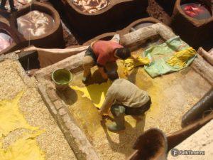 Подготовка шкур к сушке