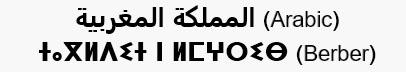 Арабские и берберские буквы