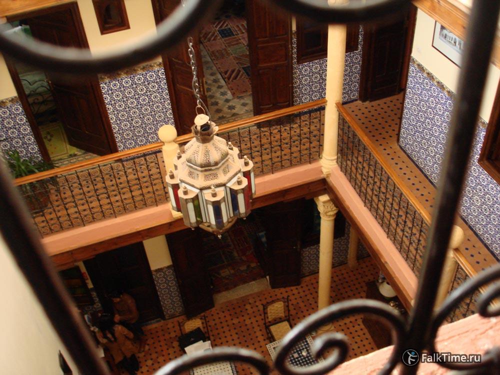 Традиционный атриум риада