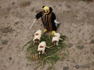 Арабский завоеватель и овцы, игрушка