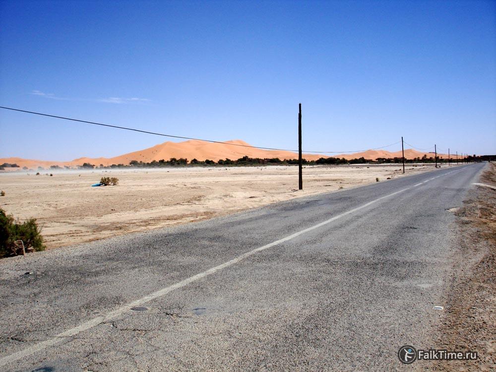 Дорога в дюны