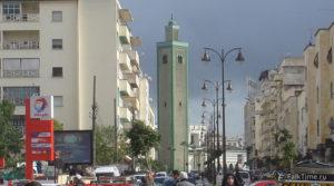Вид на мечеть Тажамуати, Фес