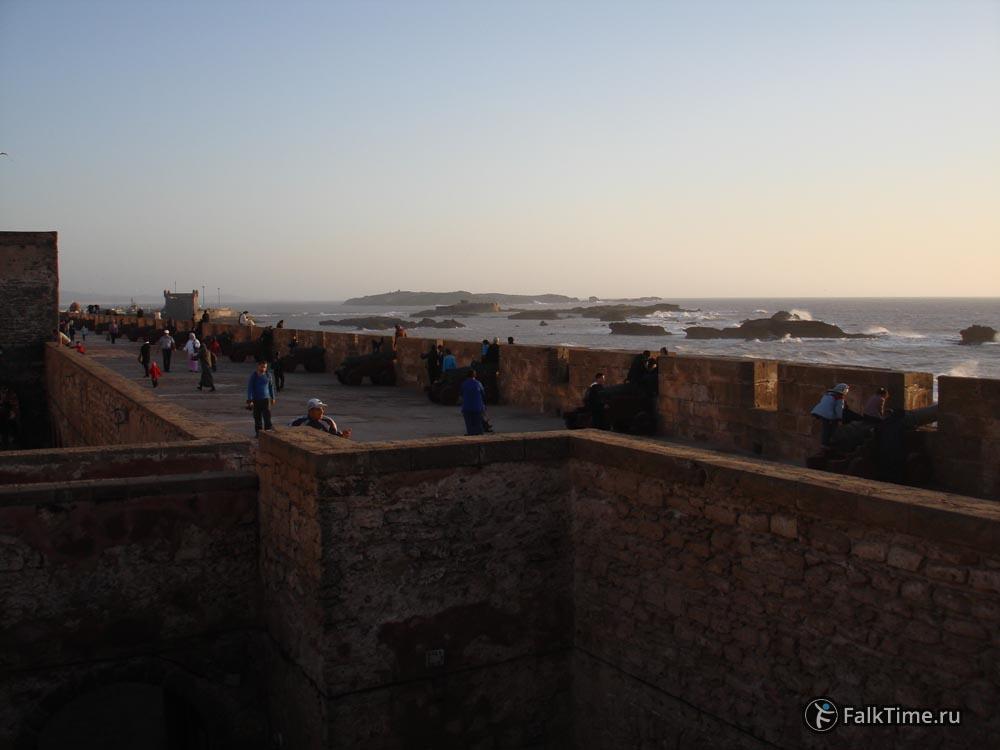 Вид на Скала де ла Касба