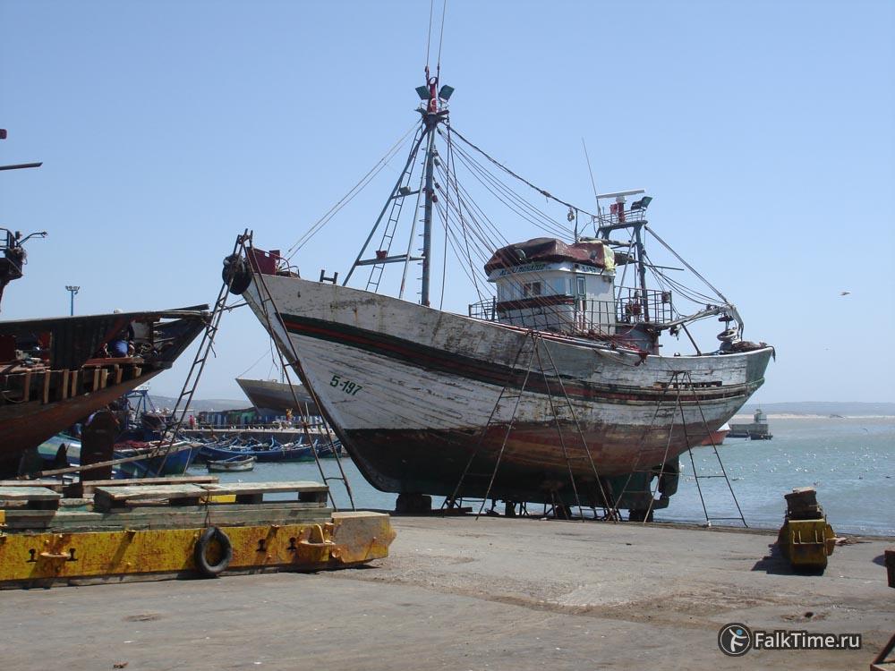 Корабль на ремонте