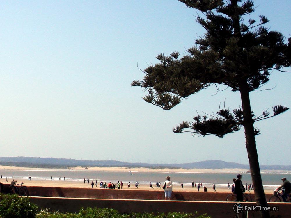 Пляж Тагарт во время отлива