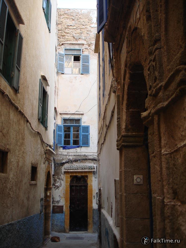 Узкие улицы медины